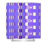 Moveonart Violet Interactive Spiritual Solutions Shower Curtain