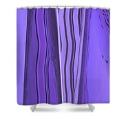 Moveonart Violet Moment 1 Shower Curtain