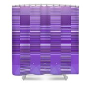 Moveonart Violet Program Two Shower Curtain
