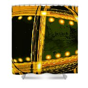 Moveonart Vision Of Space Travel 1 Shower Curtain
