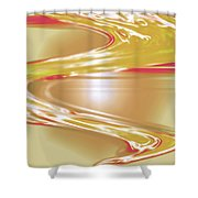 Moveonart Wave Of The Annointing Shower Curtain