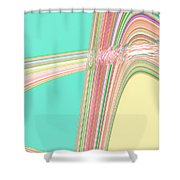 Moveonart Wave Over Me With Calmness Shower Curtain