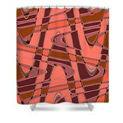 Moveonart Wave Time 4 Shower Curtain
