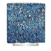 Moveonart Waves In The Water Shower Curtain