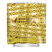 Moveonart Waves Of Blessings And Light 1 Shower Curtain