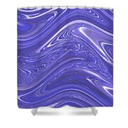 Moveonart Waves Of Blue For You 1 Shower Curtain