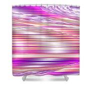Moveonart Waves Of Enduring Strength Shower Curtain