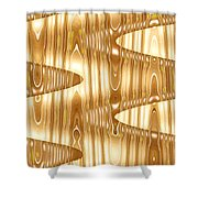 Moveonart Waves Of Enlightenment 2 Shower Curtain