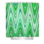 Moveonart Waves Of Good Fortune Shower Curtain