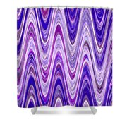 Moveonart Waves Of New Life Shower Curtain