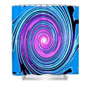 Moveonart Waves Of Renewal I Shower Curtain