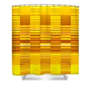 Moveonart Yellow Program Six Shower Curtain