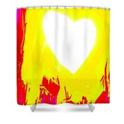 Moveonart You Are Loved 3 Shower Curtain