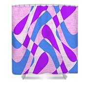 Moveonart Zen Waves Series 3 Shower Curtain