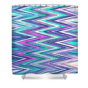Moveonart Zig Zag Therapy One Shower Curtain