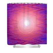 Moveonart Zig Zag Therapy Two Shower Curtain