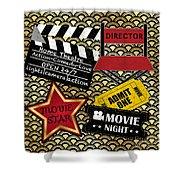 Movie Night-jp3613 Shower Curtain