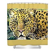 Moving Beauty Shower Curtain
