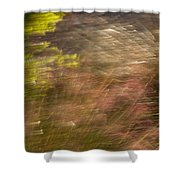 Moving In The Wind Shower Curtain