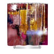 Moving Light Shower Curtain