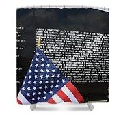 Moving Wall - Vietnam Memorial Shower Curtain