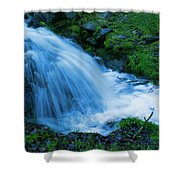 Moving Water Can Move Your Soul Shower Curtain