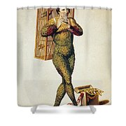 Mozart: Magic Flute, 1791 Shower Curtain
