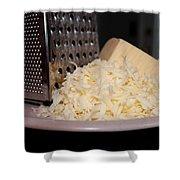Mozzarella Shower Curtain