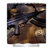 MP5 Shower Curtain
