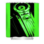 Mph Green 5485 G_4 Shower Curtain