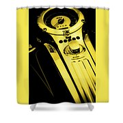 Mph Yellow 5485 G_3 Shower Curtain