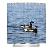 Mr. And Mrs. Brant Shower Curtain