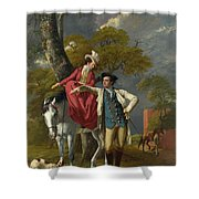 Mr And Mrs Thomas Coltman Shower Curtain