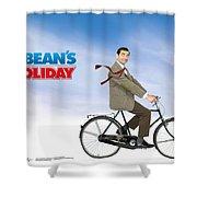 Mr. Bean Shower Curtain