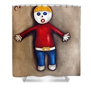 Mr. Bill Shower Curtain