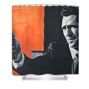 Mr Blonde 2013 Shower Curtain by Luis Ludzska