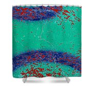 Mr Blue Jangles Shower Curtain