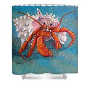Mr. Crab Shower Curtain