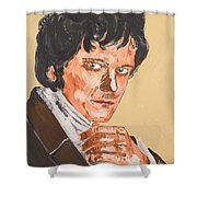 Mr. Darcy Shower Curtain
