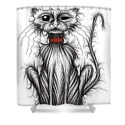 Mr Grump Shower Curtain