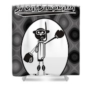Mr. Jock Shower Curtain