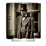 Mr Lincoln Shower Curtain