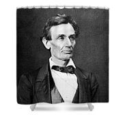 Mr. Lincoln Shower Curtain