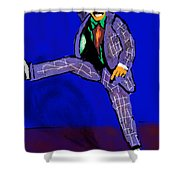 Mr Melody Shower Curtain