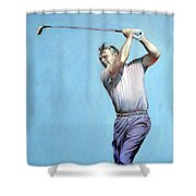 Mr Palmer Shower Curtain