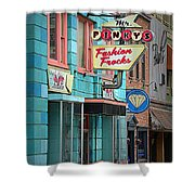 Mr. Pinky's Shower Curtain
