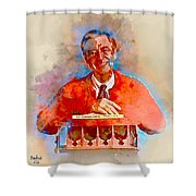 Mr. Rogers Shower Curtain