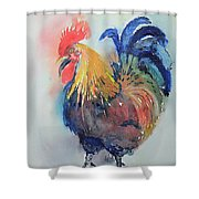 Mr Rooster Shower Curtain
