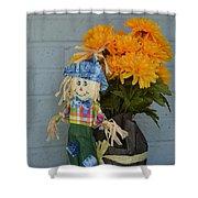 Mr Scarecrow Shower Curtain