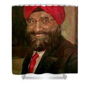 Mr. Singh Shower Curtain